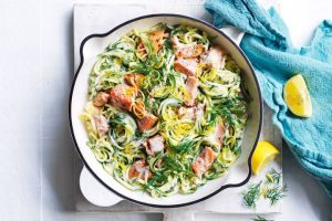 NORTHSIDE HEALTH ONE PAN CREAMY SALMON RECIPE