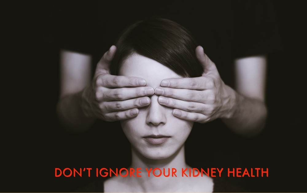 A women ignoring her symptoms for kidney disease can lead to chronic kidney disease